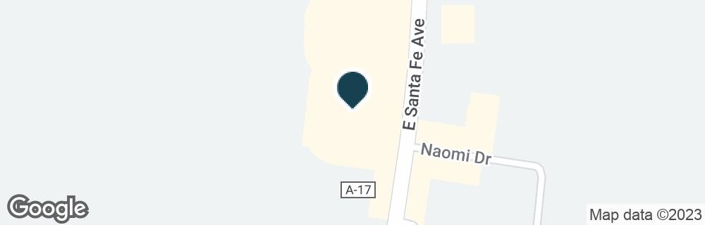 Google Map of1509 E SANTA FE AVE