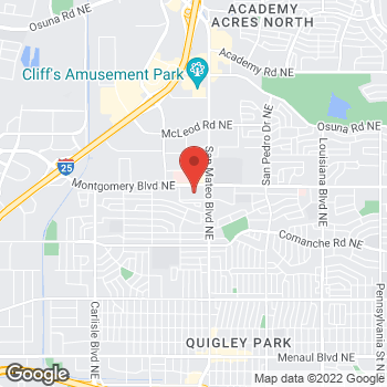 Map of Check `n Go Montgomery Blvd at 4770 Montgomery Blvd NE, Albuquerque, NM 87109