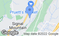 Map of Signal Mountain, TN