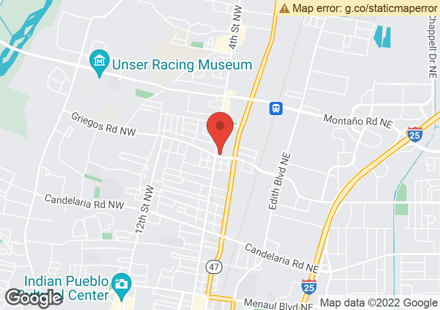 Google Map of 4700 4TH ST NW