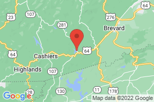 Map of Lake Toxaway