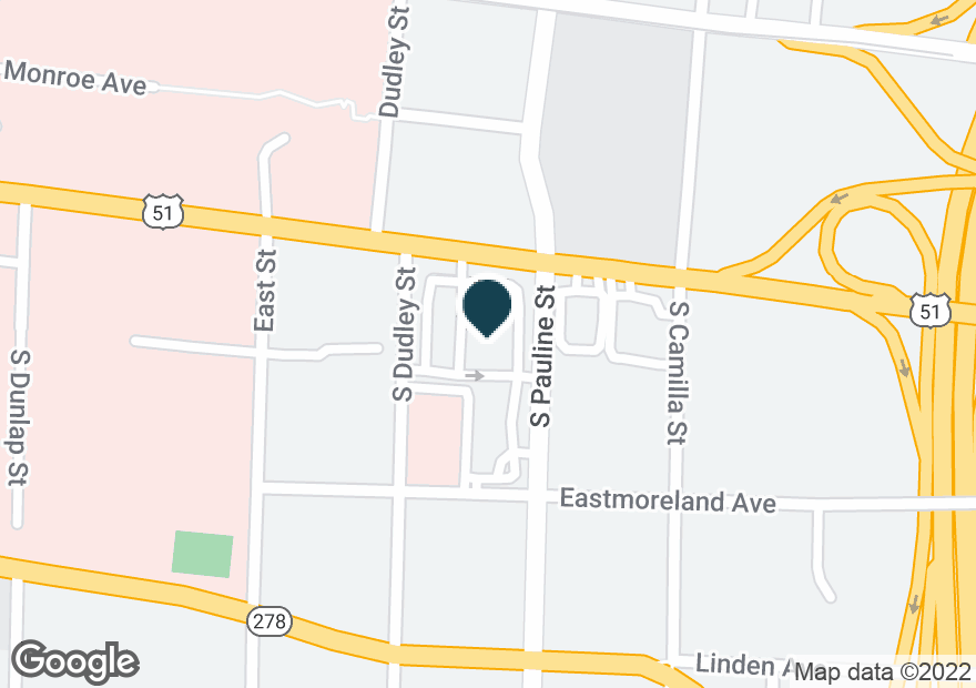 Google Map of987 UNION AVE