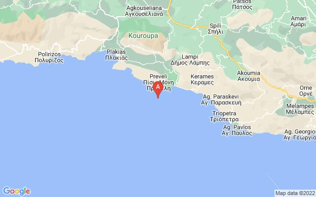 Google Map of PREVELI PALM FOREST& BEACH