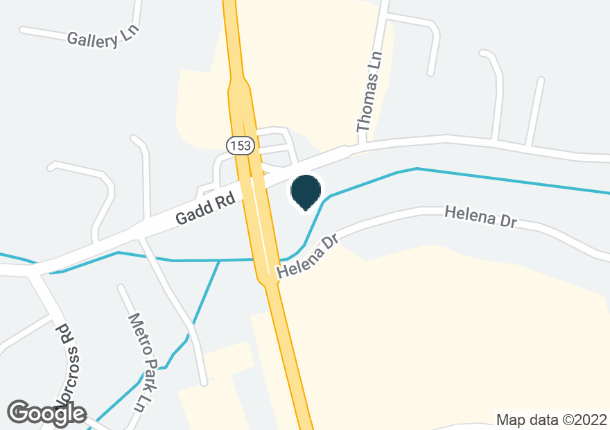 Google Map of5478 HIGHWAY 153