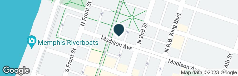 Google Map of2 N MAIN ST