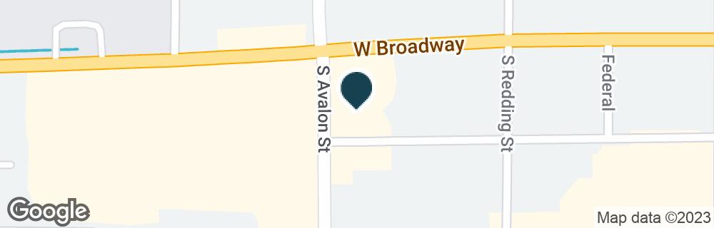 Google Map of346 W BROADWAY ST