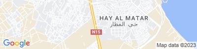 Nador Operations Map