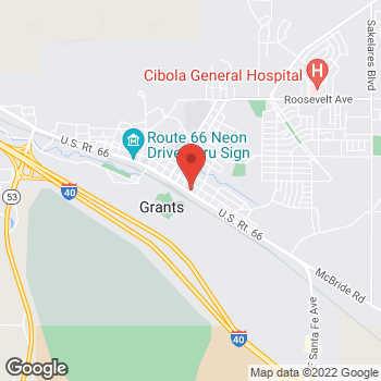 Map of Check `n Go at 300 E. Santa Fe Ave., Grants, NM 87020