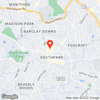 Map of Ann Taylor at 4400 Sharon Road, Charlotte, NC 28211