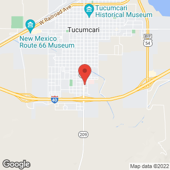 Map of Taco Bell at 2428 1st st, Tucumcari, NM 88401