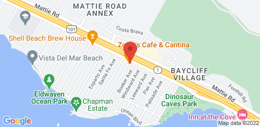 Directions to Zorro's Cafe & Cantina