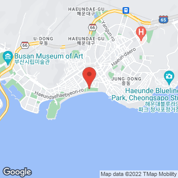 Map of Salvatore Ferragamo at 296 Haeundaehaebyeon-ro, Jundong, Busan 48099