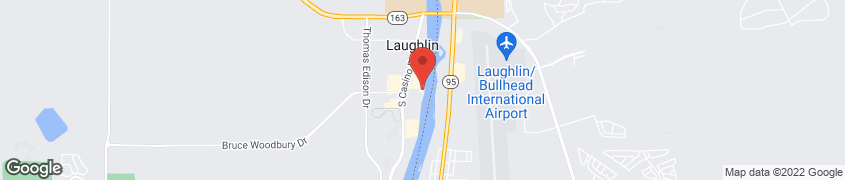 Map of 2020 South Casino Drive in Laughlin