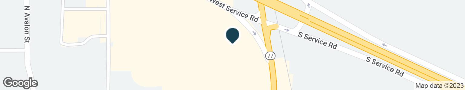 Google Map of1800 N MISSOURI ST