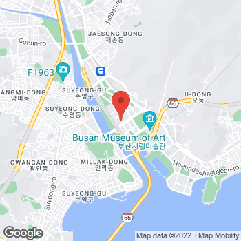 Map of Salvatore Ferragamo at 59, Centum nam-daero, Haeundae-gu, U-dong, Busan 48058