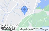 Map of Hixson, TN