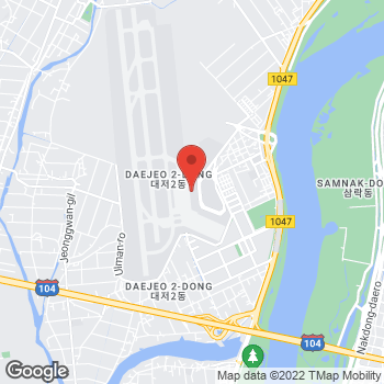 Map of Salvatore Ferragamo at 108, Gonghangjinip-ro, Gangseo-gu, Busan 46718