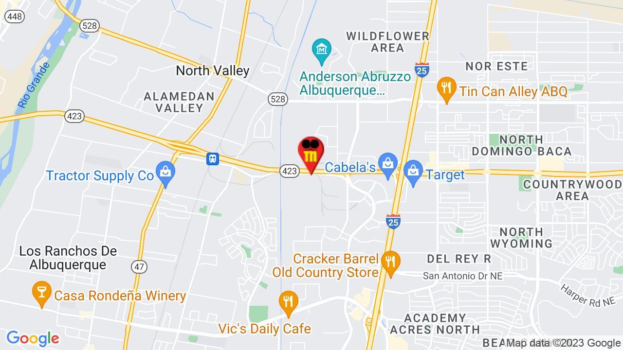 Google Map of Albuquerque Pest Control
