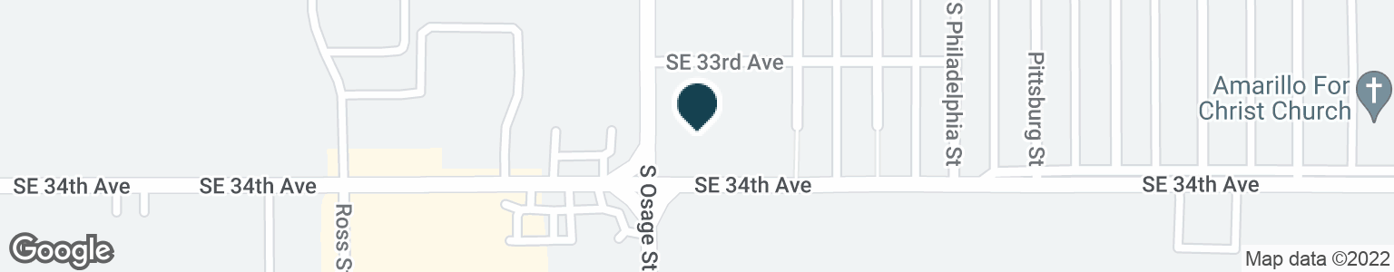 Google Map of2205 SE 34TH AVE