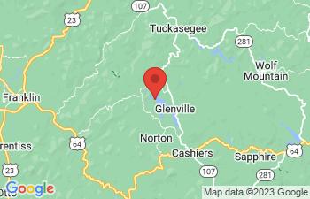Map of Lake Glenville