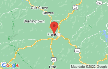 Map of Franklin