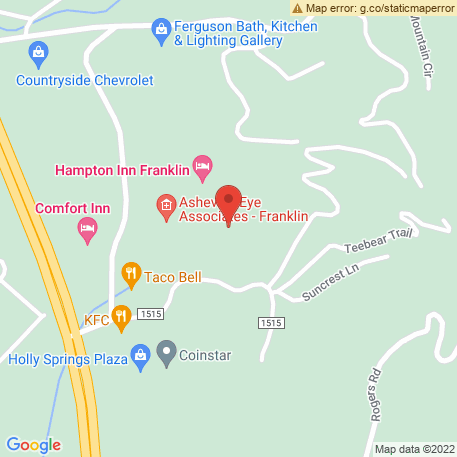 Keever Janine L MD on Map (55 Holly Spgs Park Dr, Franklin, NC 28734) Map