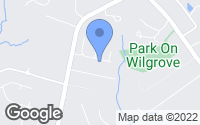 Map of Mint Hill, NC