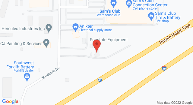 Map of Branch Location