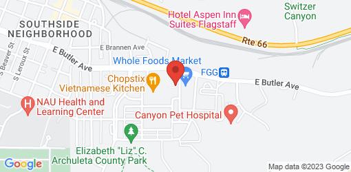 Directions to Pita Jungle - Flagstaff