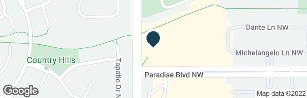 Google Map of6565 PARADISE BLVD NW