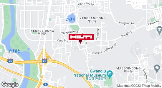 Get directions to 광주북구양산611
