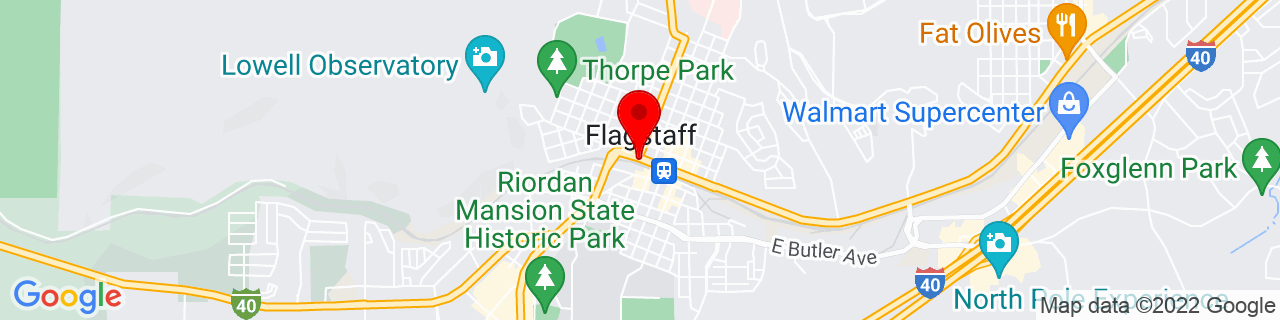 Google Map of 35.198055555555555, -111.65138888888889
