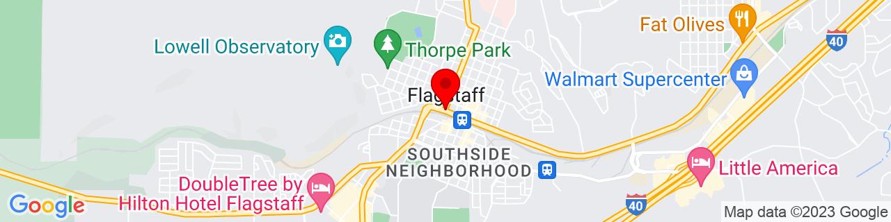 Google Map of 35.1982836, -111.651302