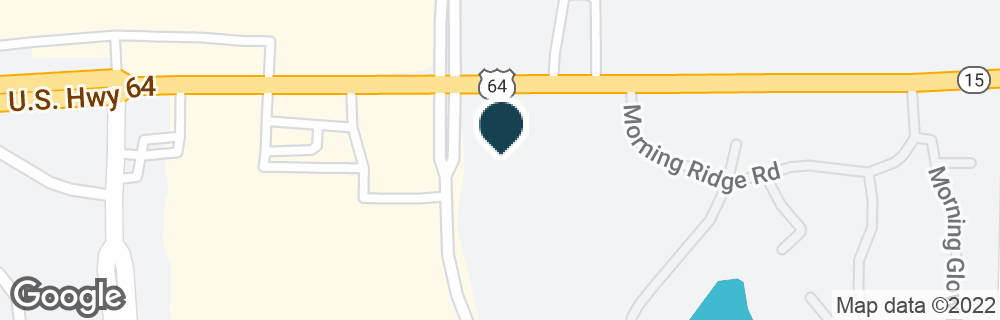 Google Map of9085 HIGHWAY 64