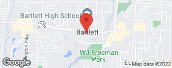Map of 2874 Shelby St in Bartlett