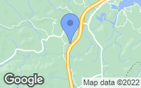 Map of Zirconia, NC