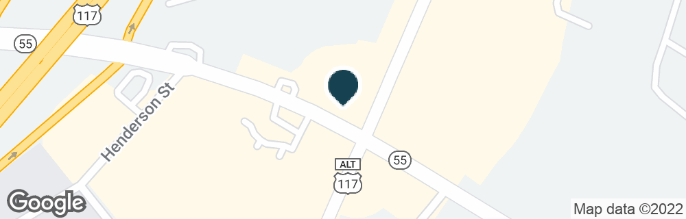 Google Map of1103 N BREAZEALE AVE