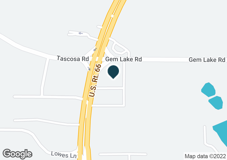 Google Map of5709 W AMARILLO BLVD