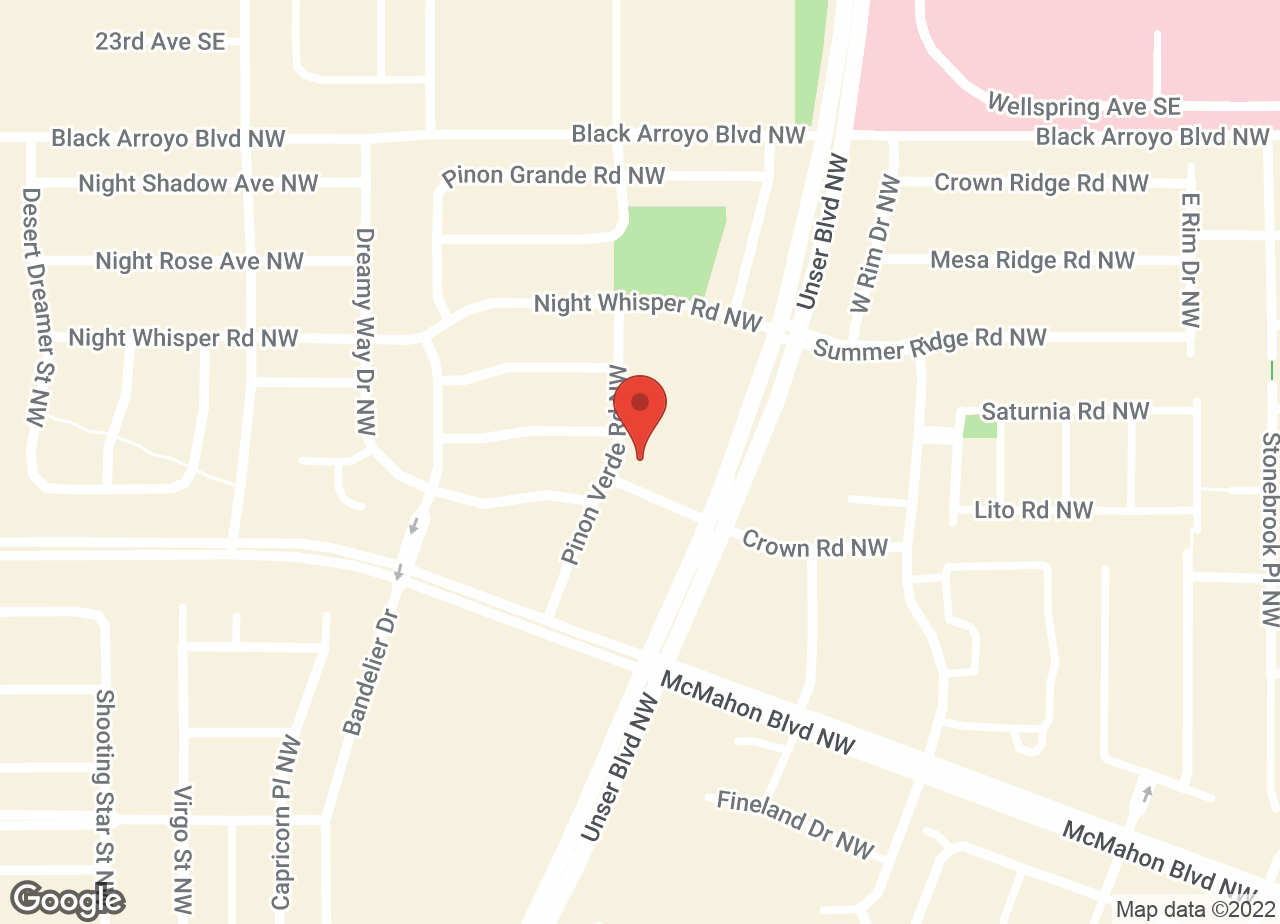 Google Map of VCA Ventana Animal Hospital
