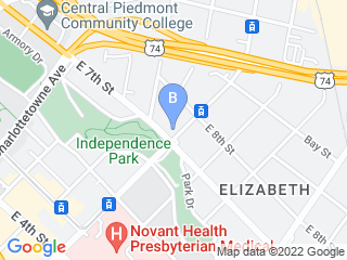 Map of The Distinguished Pet Sitter   Charlotte NC Dog Boarding options in Charlotte | Boarding