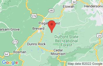Map of Pisgah Forest