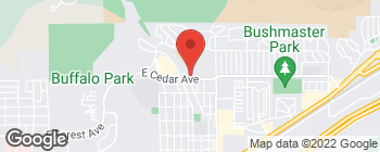 Map of 2200 E Cedar Ave in Flagstaff
