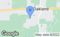 Map of Oakland, TN