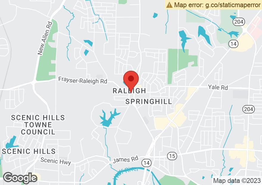 Google Map of 3489 RAMILL RD
