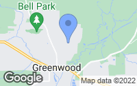 Map of Greenwood, AR