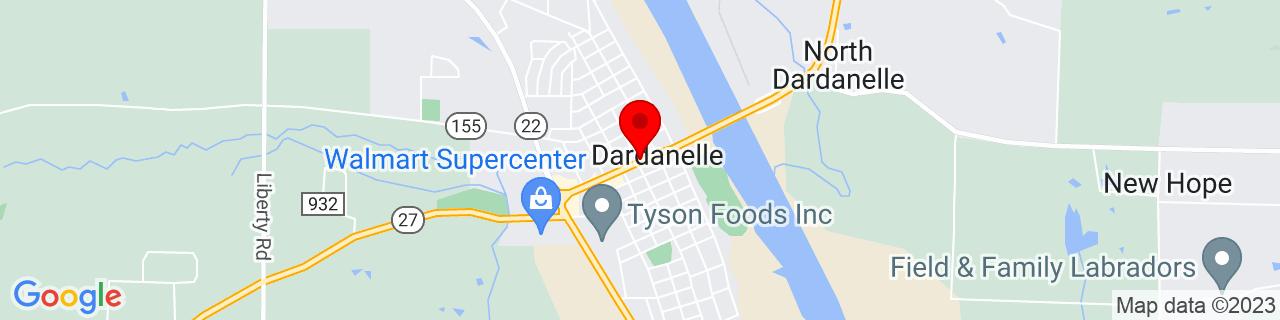 Google Map of 35.223055555555554, -93.15805555555556