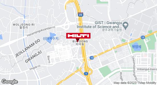 Get directions to 광주광산비아155