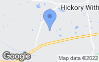 Map of Hickory Withe, TN