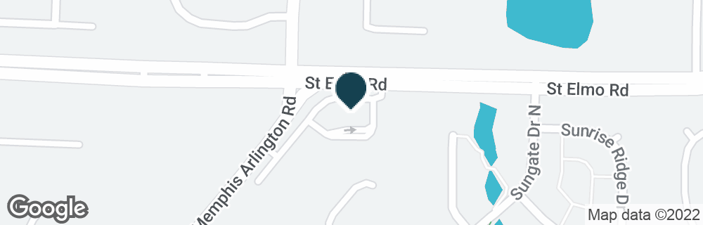 Google Map of6565 SAINT ELMO RD