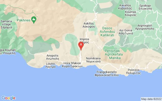 Google Map of IMBROS GORGE